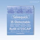 Picture of Salvequick Pflaster-Strips detectable Refill 6735CAP (35 Stck.)